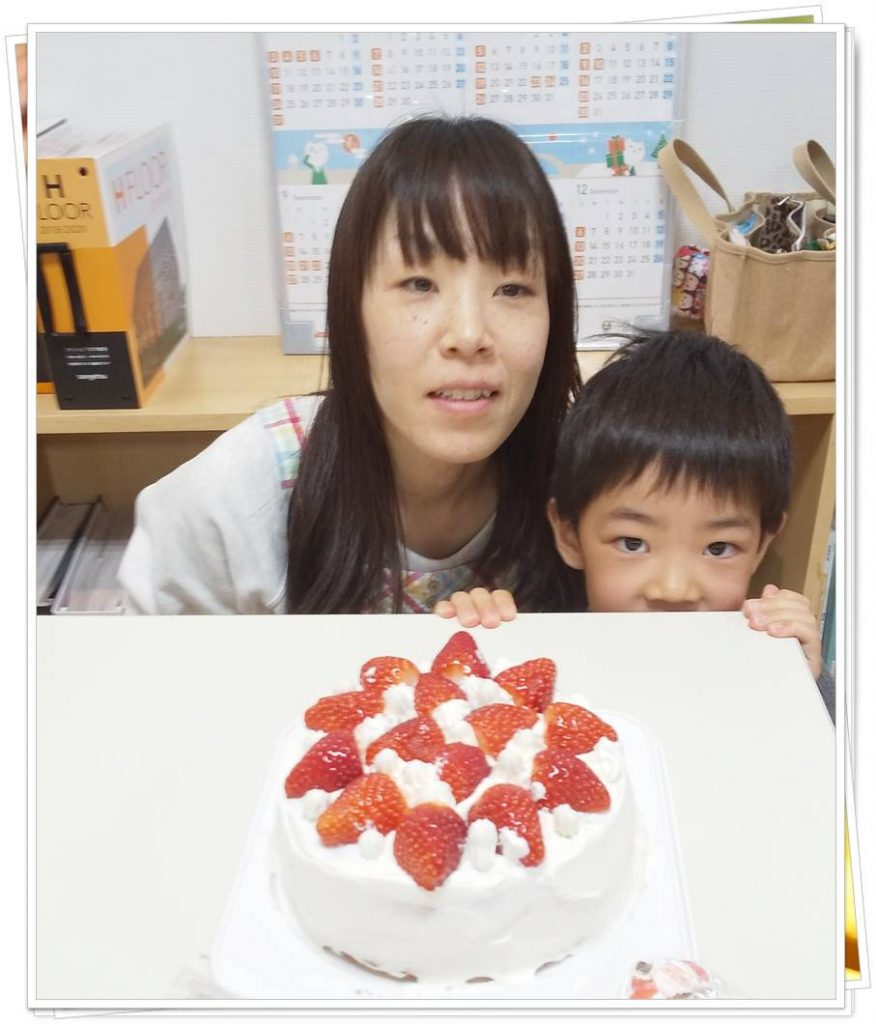 石田屋のクリスマスケーキ作り